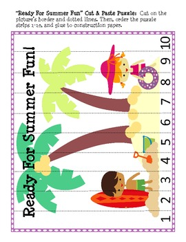 Summer Fun! Beach-themed Activities for Little Learners