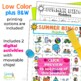 Summer Bingo Riddles Game - Speech Therapy or Party activity