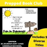Summer Fun Book Club Unit for use with 5 Diverse Books