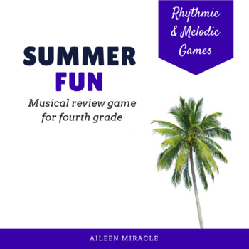 Music Summer Fun Set {Fourth Grade}