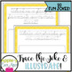 Summer Fun CURSIVE Practice Joke Book