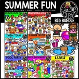 Summer Fun Clip Art Big Bundle {Educlips Cliaprt}