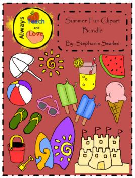 Summer Fun Clipart Bundle