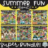 Summer Fun Clipart SUPER Bundle! {$37.50 value!}