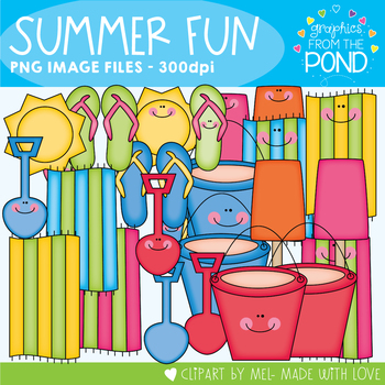 Summer Fun - Clipart for Teachers and Classrooms