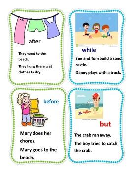 Summer Grammar Using Conjunctions