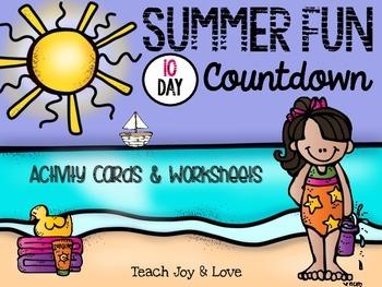 Summer Fun Countdown