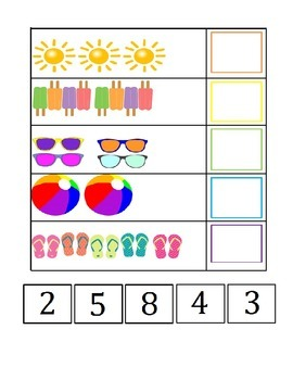 Summer Fun Counting