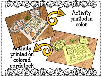 Summer Fun Counting Math-A Fun Number Sense Activity