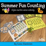 Summer Fun Counting Math-A Fun Number Sense Activity
