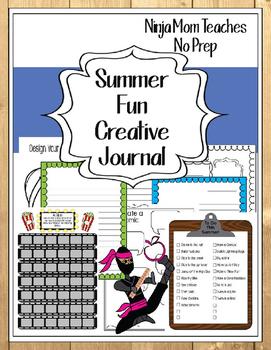 Summer Fun Creative Journal- No Prep