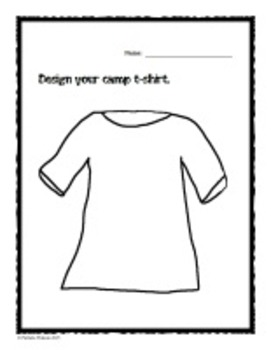 Summer Fun - Design Your Own Summer Camp Project