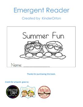Summer Fun - Emergent Reader