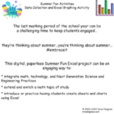 Summer Fun Excel Project