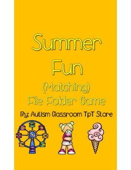 Summer Fun File Folder Games