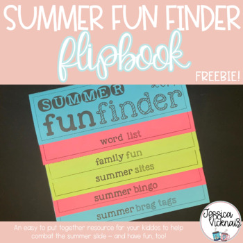 Summer Fun Finder Flapbook! *FREEBIE*
