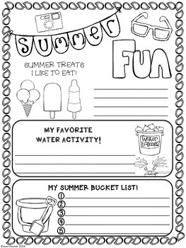 Summer Fun Freebie