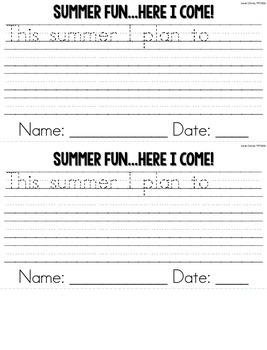 FREEBIE!!!!!! Summer Fun, Here We Come: Craftivity {Lemonade Fun}