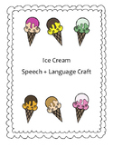 Summer Fun Ice Cream Craft