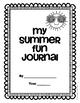 Summer Fun Journal