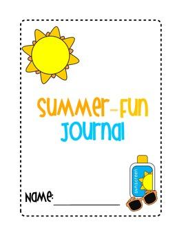 Summer Fun Journal Cover