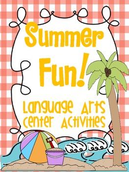 Summer Fun Language Arts Centers! {Common Core Aligned Act