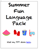 Summer Fun Language Pack