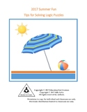 Summer Fun Logic Puzzles and Activities Packet