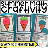 Summer Fun Math Craft-Differentiated