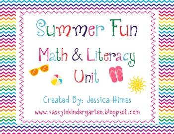 Summer Fun Math & Literacy Unit