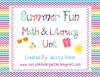 Summer Fun Math & Literacy Unit