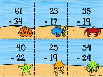 Summer Fun Math Stations---10 Common Core Aligned Math Centers for 2nd Grade