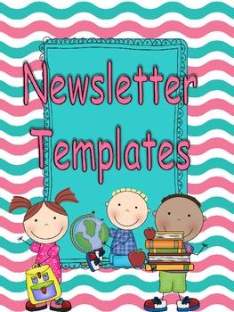 Summer Fun Newsletter Templates