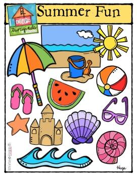 Summer Fun (P4Clips-Trioriginals Digital Clip Art)