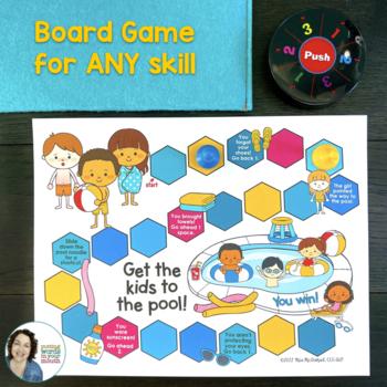 Speech Language Therapy Activities & Homework - Summer Fun