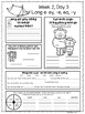 Summer Fun Packet for the End of 1st Grade