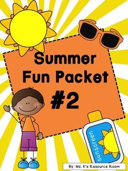 Summer Fun Packet #2!
