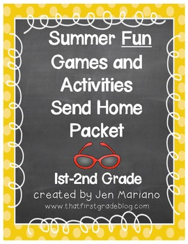 Summer Fun Packet (Grades 1-2)