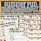 Summer Fun Passport, Kit and Schedule - INSTANT DOWNLOAD