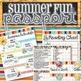 Summer Fun Passport, Kit and Schedule - INSTANT DOWNLOAD