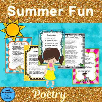 Summer Fun Poetry