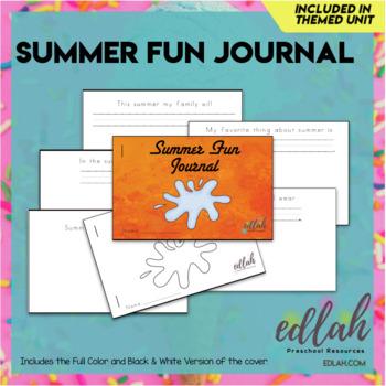 Summer Fun Printable Journal