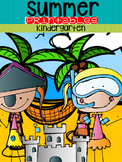 Summer Review (Kindergarten)