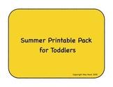 Summer Fun Printables