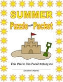 Summer Fun Packet