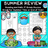 1st Grade Summer Review Packet /  End of year activities/