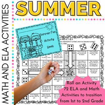 Summer Activities: Roll an Activity for First Grade