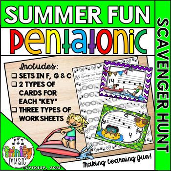 Summer Fun Scavenger Hunt (Do-Re-Mi-So-La)