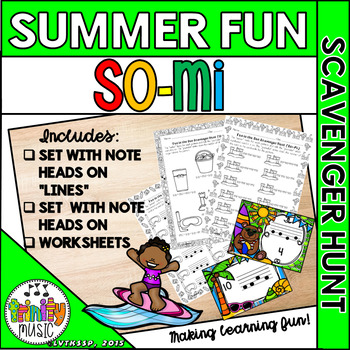 Summer Fun Scavenger Hunt (So-Mi)
