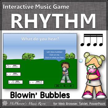 Summer Fun! Sixteenth Note (Interactive Rhythm Game)